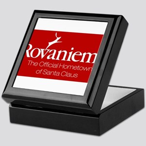Rovaniemi, home of Santa Keepsake Box