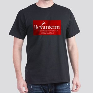 Rovaniemi, home of Santa Dark T-Shirt