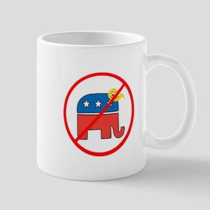 No Trump, Republican elephant Mugs