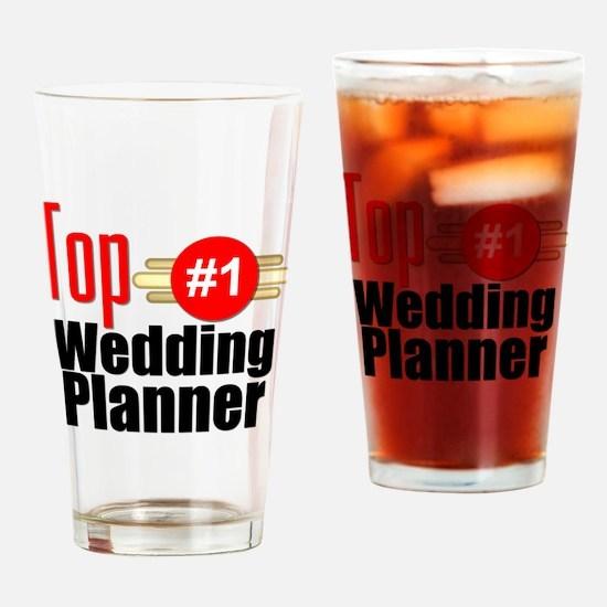 Top Wedding Planner Drinking Glass
