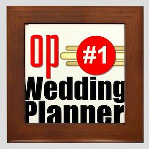 Top Wedding Planner Framed Tile