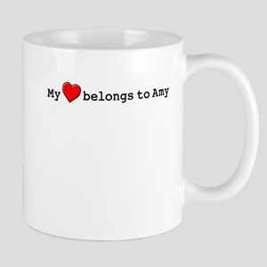 My Heart Belongs To Amy Mug