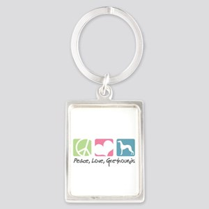 peacedogs Portrait Keychain