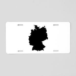 Black Aluminum License Plate