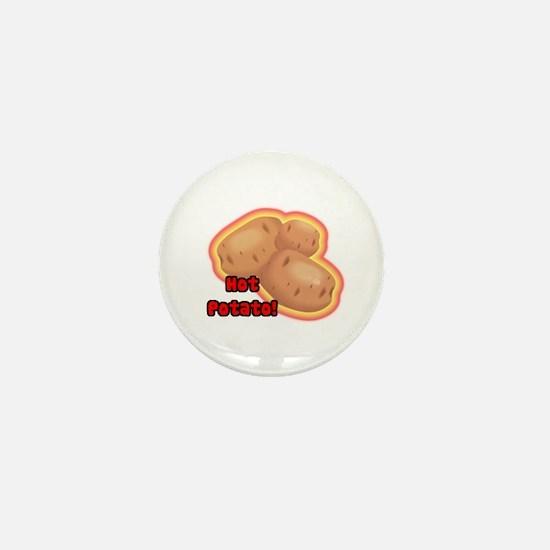 Hot Potato Mini Button