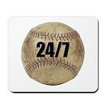 24/7 Baseball Mousepad