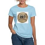 24/7 Baseball Women's Pink T-Shirt