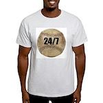 24/7 Baseball Ash Grey T-Shirt