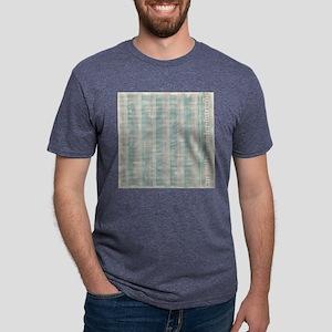 bgsoftseastripes Mens Tri-blend T-Shirt