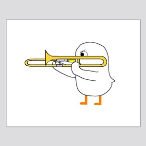 Trombone Player Small Poster
