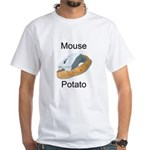 Mouse potato White T-Shirt