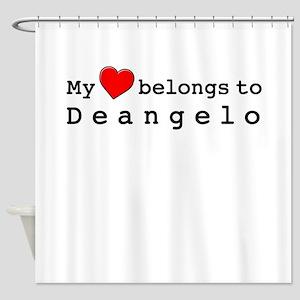 My Heart Belongs To Deangelo Shower Curtain