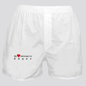 My Heart Belongs To Edgar Boxer Shorts