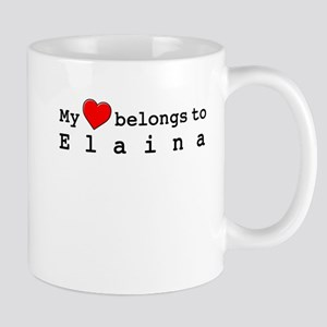 My Heart Belongs To Elaina Mug