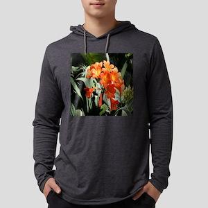 Burst of Orange box Mens Hooded Shirt