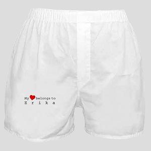 My Heart Belongs To Erika Boxer Shorts