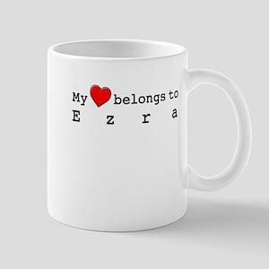 My Heart Belongs To Ezra Mug