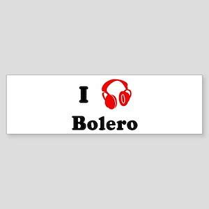 Bolero music Bumper Sticker