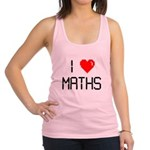 I love maths Racerback Tank Top