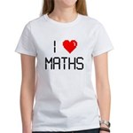 I love maths Women's T-Shirt