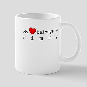 My Heart Belongs To Jimmy Mug