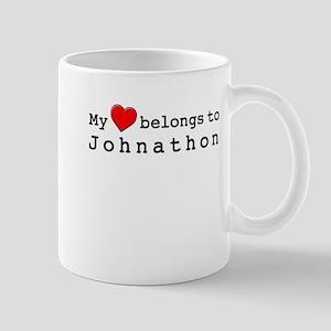 My Heart Belongs To Johnathon Mug
