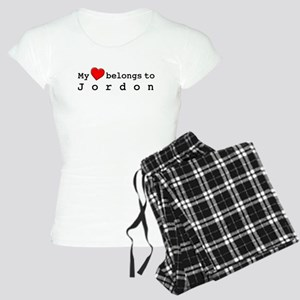 My Heart Belongs To Jordon Women's Light Pajamas