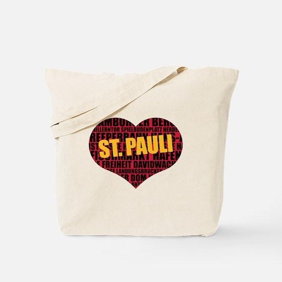St. Pauli, Hamburg Tote Bag