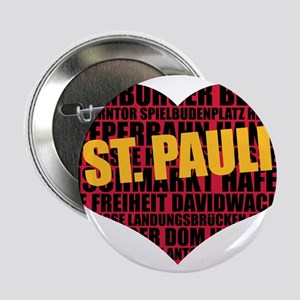 "St. Pauli, Hamburg 2.25"" Button"