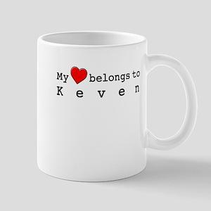 My Heart Belongs To Keven Mug
