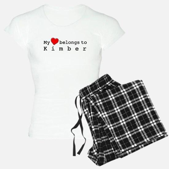 My Heart Belongs To Kimber Pajamas