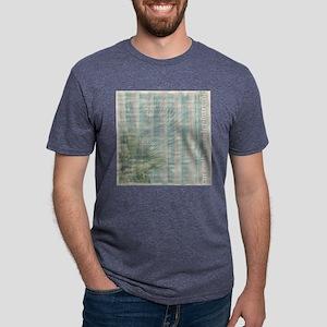 bgsoftseastripes (3) Mens Tri-blend T-Shirt