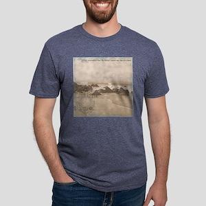 bgsoftseastripes (6) Mens Tri-blend T-Shirt