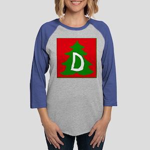 D Womens Baseball Tee