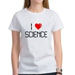 I love science Women's T-Shirt