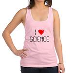 I love science Racerback Tank Top