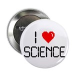 """I love science 2.25"""" Button (100 pack)"""