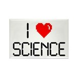 I love science Rectangle Magnet (100 pack)