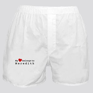 My Heart Belongs To Meredith Boxer Shorts