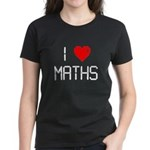 I love maths Women's Dark T-Shirt