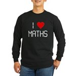 I love maths Long Sleeve Dark T-Shirt