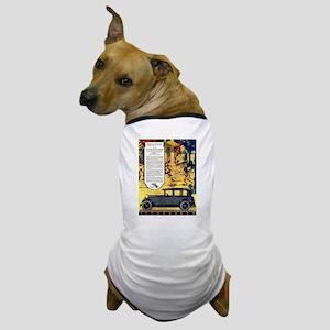 1927 Studebaker Roman Orgy Scene Dog T-Shirt