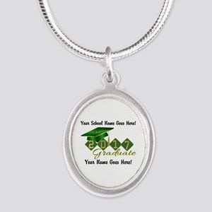 Graduate 2017 Green Gold Necklaces