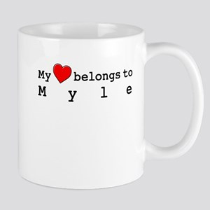 My Heart Belongs To Myle Mug