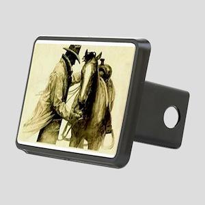 Saddle Up Rectangular Hitch Cover