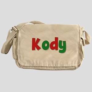 Kody Christmas Messenger Bag