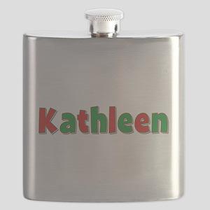 Kathleen Christmas Flask