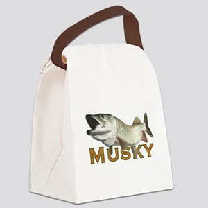 Monster Musky Canvas Lunch Bag