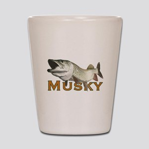 Monster Musky Shot Glass