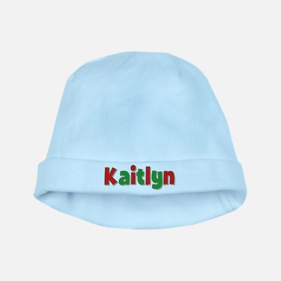 Kaitlyn Christmas baby hat